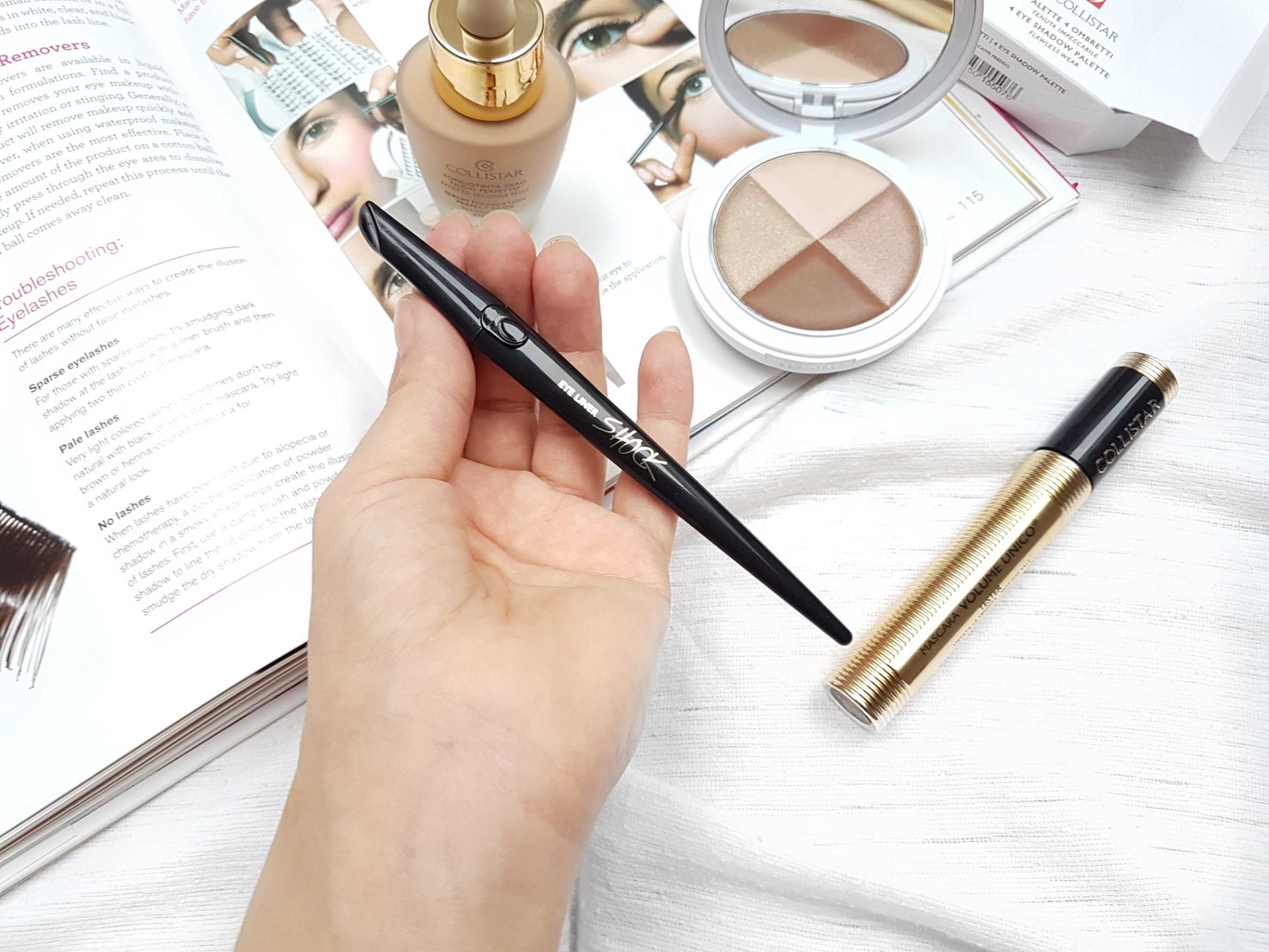 collistar linka eyeliner shock testovanie