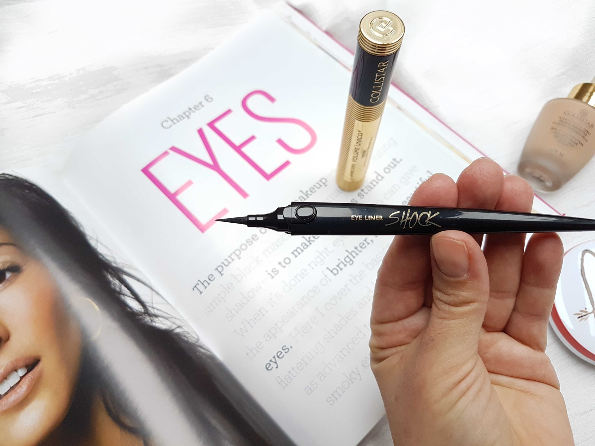 collistar eyeliner shock linka testovanie