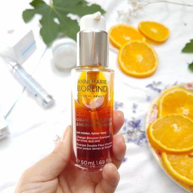 Energizer z pomarančových kvetov prírodná kozmetika AnneMarie Börlind