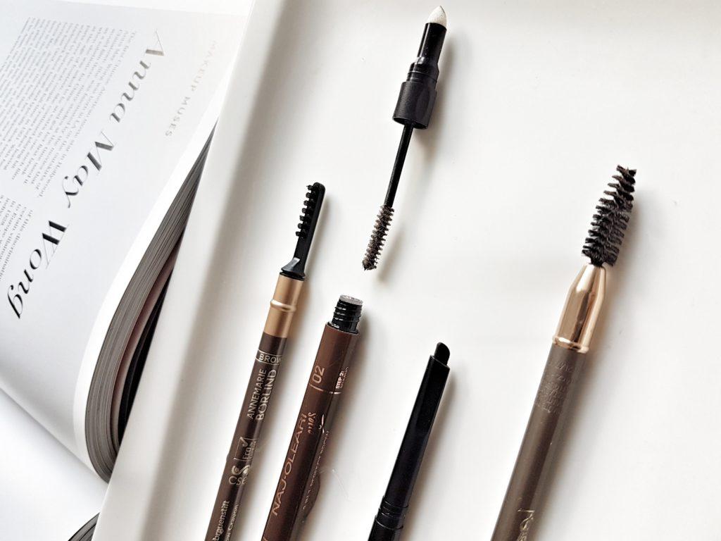 Makeupové produky na krásne obočie