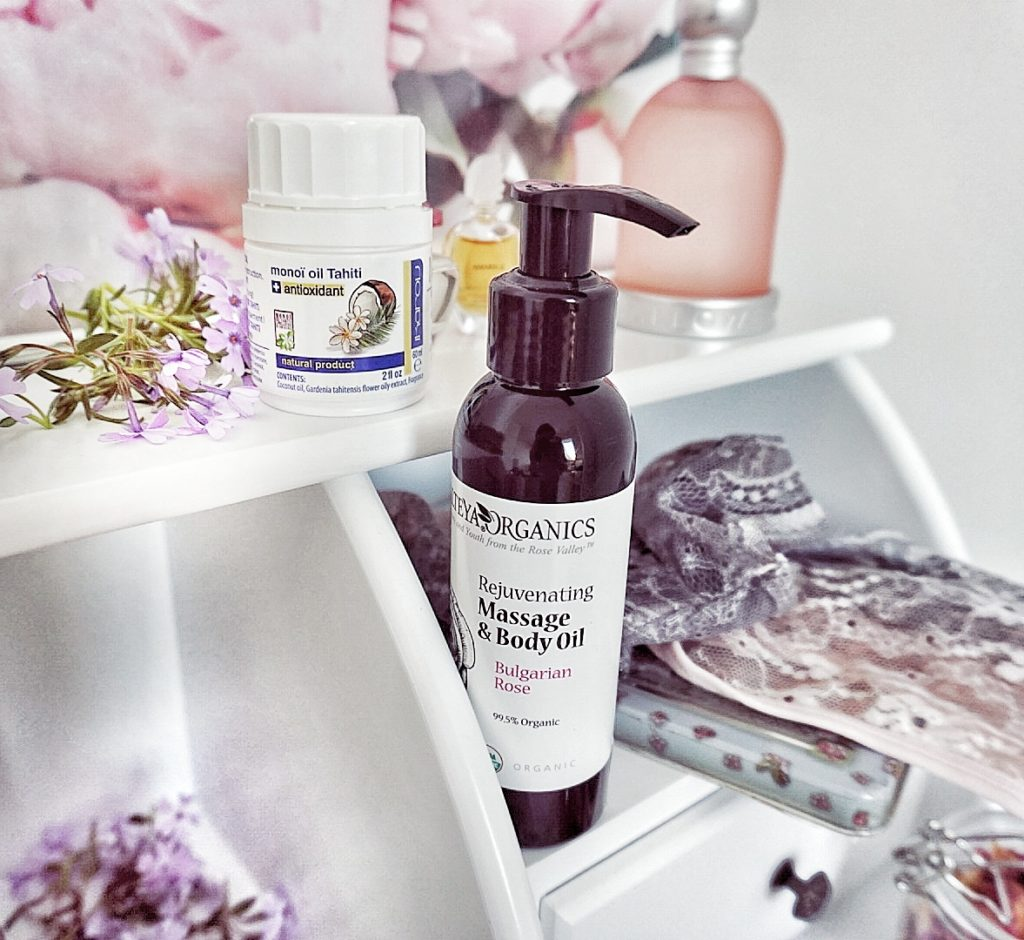 Bioruža.sk eshop s ružovou kozmetikou nový test, Altheya cosmetics, massage oil