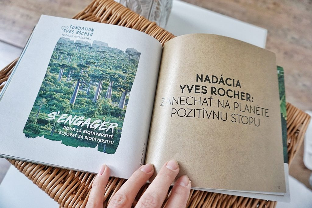 Yves Rocher a 60 záväzkov ekológia