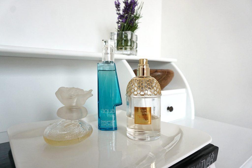 dámske parfémy Guerlain Mandarine Basilic, Kenzo, Masaki Matsushima
