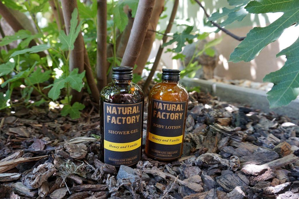 Natural Factory med a vanilka