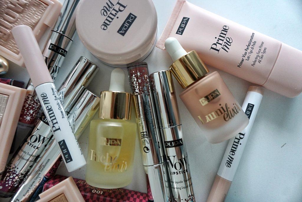 líčidlá Pupa, bázy pod makeup, rozjasňujúca báza, oil primer, púdre