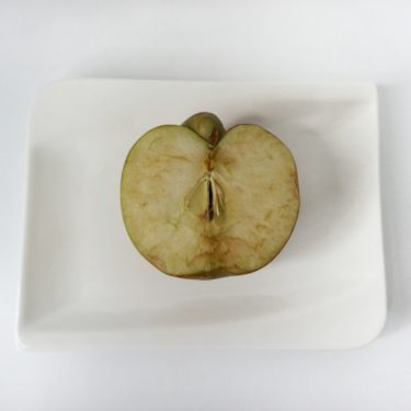 vitamín C jablko oxidácia