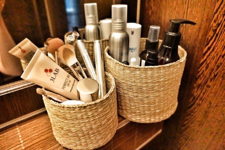 ako si zorganizovať kozmetiku efektívne